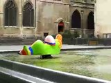 Fountain at art museum Centre Georges Pompidou