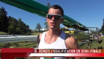 Coupe du monde III Lucerne - Interview M4- (B. Demey)
