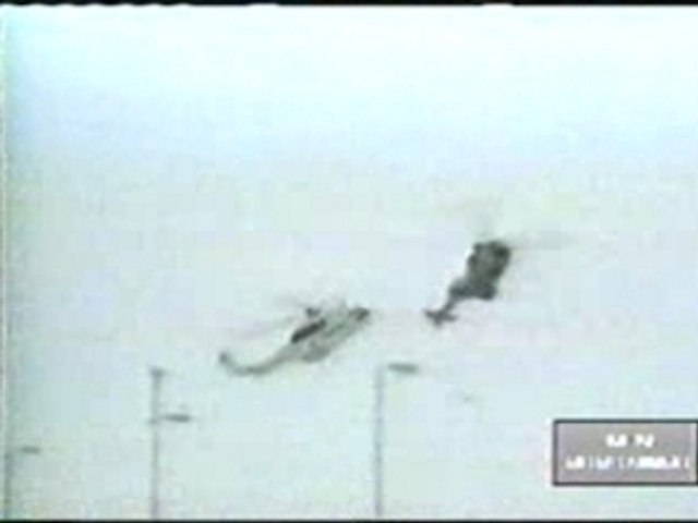 Helicoptere Collision