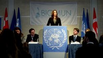 Kronprinsesse Mary holder tale ved Birkerød Gymnasium Model United Nations Conference