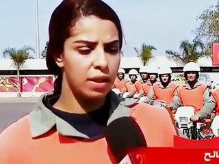 -شاهد النساء الشرطيات الدراجيات و احترافهم في قيادة الدراجة النارية