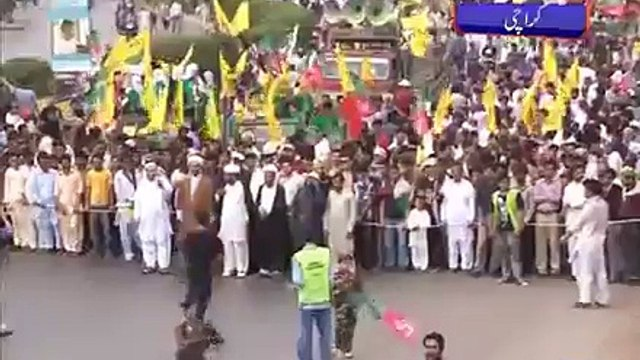 Dunya News - Yum-ul-Quds rallies observed in Lahore, Karachi