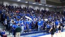 Washburn Rural High School Student Section - Boys Basketball Intros - 2/10/1