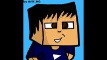 Annonce Je suis GFX Cartoon Minecraft !!