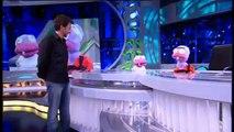 El Hormiguero (26/8/10) Will Smith, Jada Pinket Smith, Jaden Smith  y Jackie Chan (1/6)