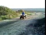 Le quad et la boue