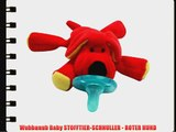 Wubbanub Baby STOFFTIER-SCHNULLER - ROTER HUND