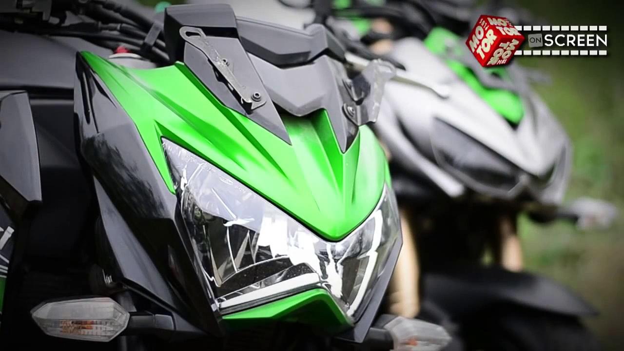 Komparasi Kawasaki Z800 VS Kawasaki New Z1000
