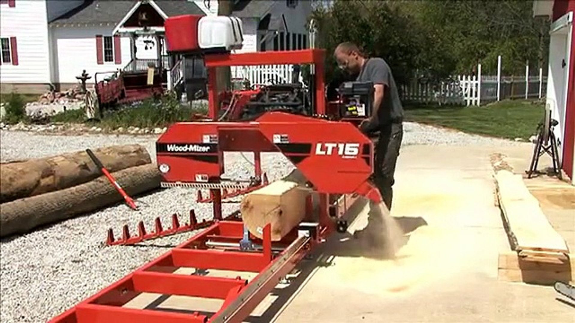 Wood-Mizer LT15 Sawmill - Start sawing your own lumber