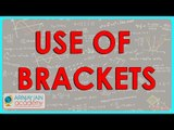 1039. $ CBSE Class VI Maths,  ICSE Class VI Maths -  Use of Brackets in Mathematics