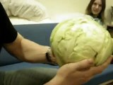 Miracle! The face of Our Lord Jesus Christ in a Cabbage