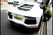 Lamborghini Aventador LP700-4 Start Up and Move London