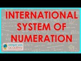 CBSE Class VI maths,  ICSE Class VI maths -  International System of Numeration   Rewriting a Number
