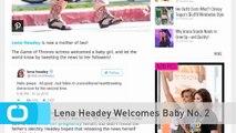 Lena Headey Welcomes Baby No. 2