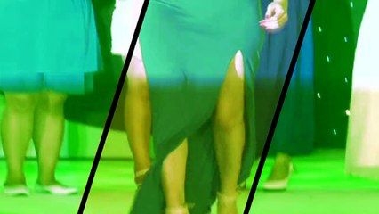 'PK Movie' Actress Anuska Sharma Hot cleavage & Back Xpose_FWF