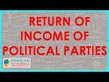 1248. CA Final Income tax   Return of Income of Political parties