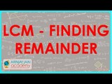 1318. LCM   Finding remainder