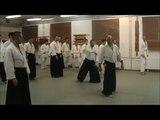 Georg Meindl 5th dan Aikikai is teaching Aikido in Sopron, Hungary February 2011 (1/7)