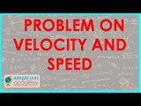 555.Class IX - Physics - CBSE, ICSE, NCERT -  Motion - Problem on Velocity and Speed