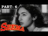Seema [ 1955 ] - Hindi Movie in Part 6 / 14 - Nutan - Balraj Sahni - Shubha Khote