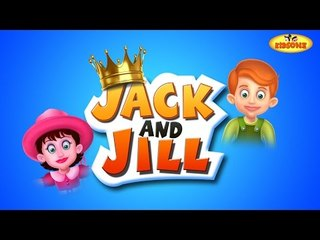 Jack and Jill Went Up the Hill | Cartoon Animation English Nursery Rhyme for Childrens