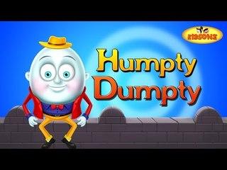 Humpty Dumpty Nursery Rhyme For Preschool Kids