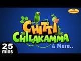 Chitti Chilakamma & More Telugu Nursery 3D Rhymes   25 Minutes Compilation from KidsOne