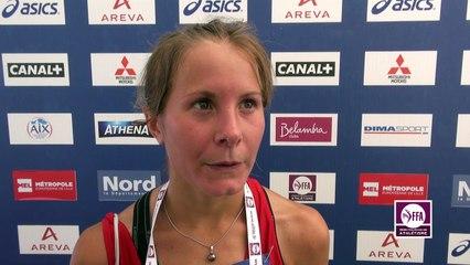 Emilie Menuet : « Pas loin du record de France »