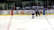 Hockey fight Ryan Murphy 3L Riviere-du-Loup vs Gaby Roch Marquis de Jonquiere 15-11-2014 LNAH