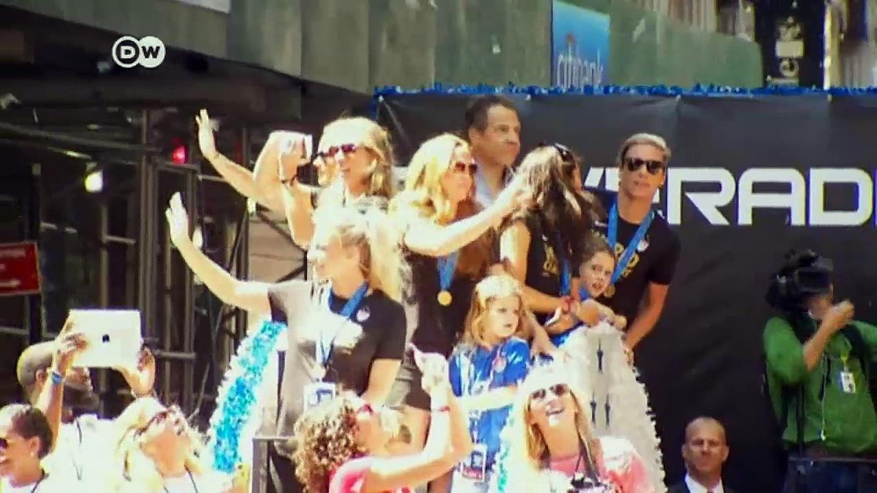 NYC celebrates Women's World Cup winners   News