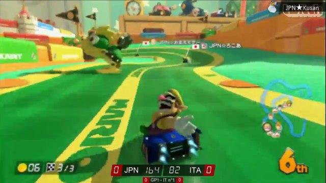 Coupe du monde MK8 : Japon - Italie - Quart de finale