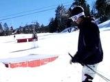 How to Snow Ski : How to Slide a Snow Ski Box