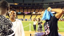 Nick Young Interview: Kobe Advice, Chris Paul's Fashion Twin At Kershaw's Challenge