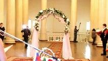 Girls Wedding Dress Falls Off - Wedding Fail