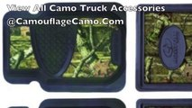 Camo Truck Accessories From Pickup Wraps & Seat Covers to Camouflage Accessory Kits or Decals