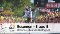 Resumen - Etapa 8 (Rennes > Mûr-de-Bretagne) - Tour de France 2015