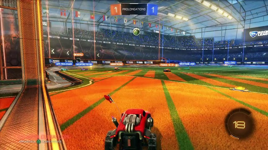 Rocket League - Victoire serrée en prolongation