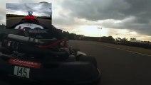 Quand un pilote de Formule 1 fait du Karting avec ses amis....