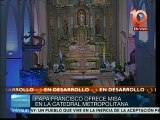 Francisco encabeza misa en la Catedral Metropolitana de Asunción