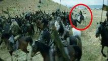 Erreurs de films Le Seigneur des Anneaux - Les Deux Tours - Errors movies The Lord of the Rings - The Two Towers
