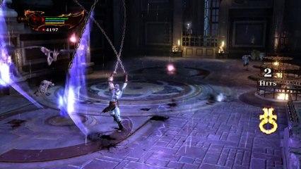 Hermes Boss Fight PS4 de God of War 3 Remastered