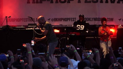 """Common - """"Be (Intro)"""" Live at the Brooklyn Hip-Hop Festival"""