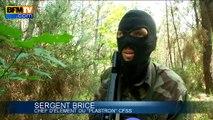 Armée: caméra embarquée lors d'un exercice de survie avec des soldats français