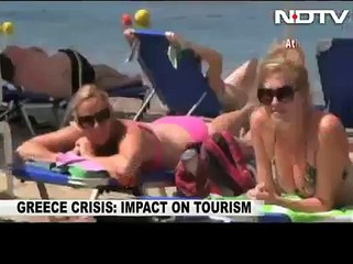 Greek tourism industry take a hit due to debt crisis, NDTV