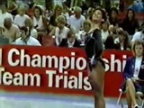 Christy Henrich - 1989 US World Trials - Floor Exercise