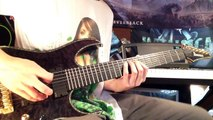 Bring Me The Horizon - Happy Song Guitar Cover (All Guitars) New Album 2015 LESSON COMING SOON!!