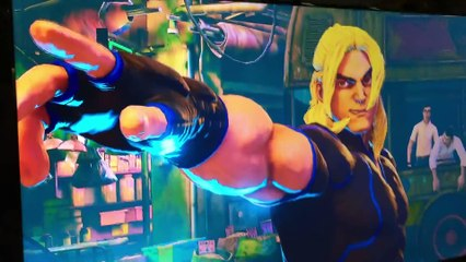 Street Fighter 5 Ken gameplay Comic-Con 2015 de Street Fighter V