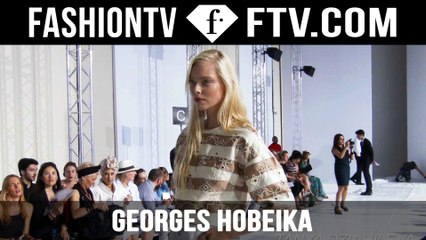 Georges Hobeika Front Row | Paris Haute Couture Fall/Winter 2015/16 | FashionTV