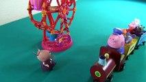 Peppa Pig en français. Peppa Pig et Lalaloopsy Ferris Wheel. Peppa Pig essaie un nouveau c