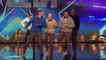 Britain's Got Talent 2015 | Old Men Grooving bust a move, and maybe their backs!